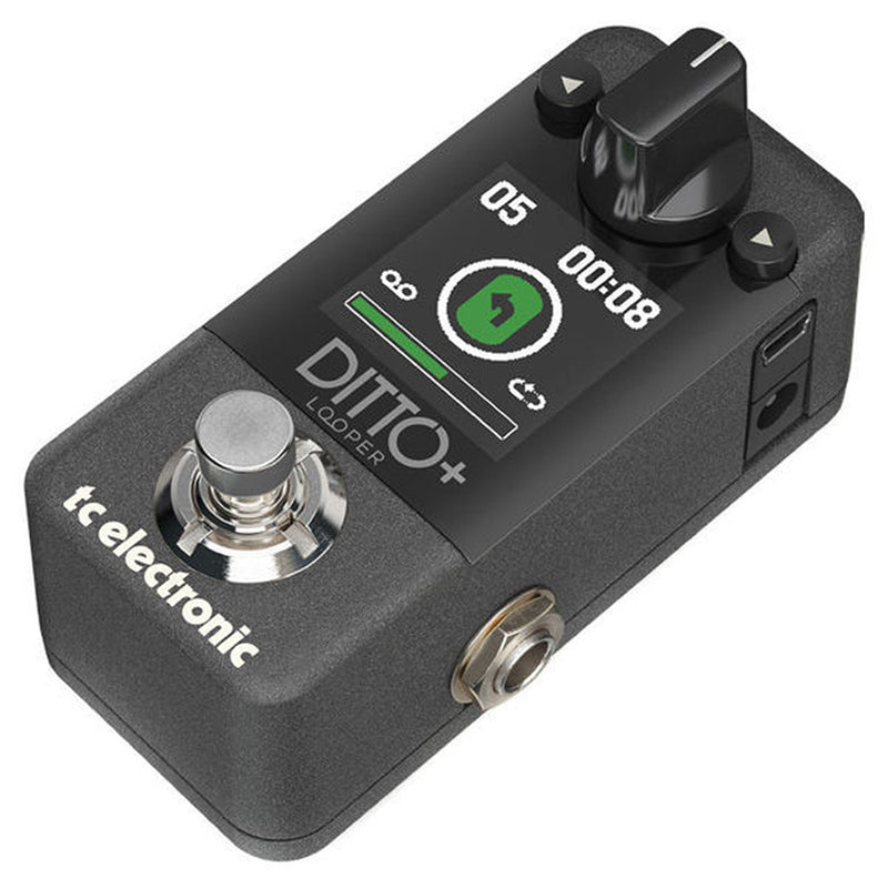 TC Electronic Ditto+ Plus Looper Pedal (Pre-Order)