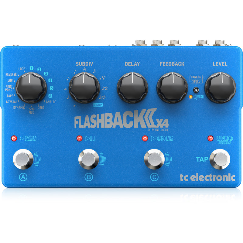 TC Electronic Flashback 2 X4 Delay and Looper Pedal