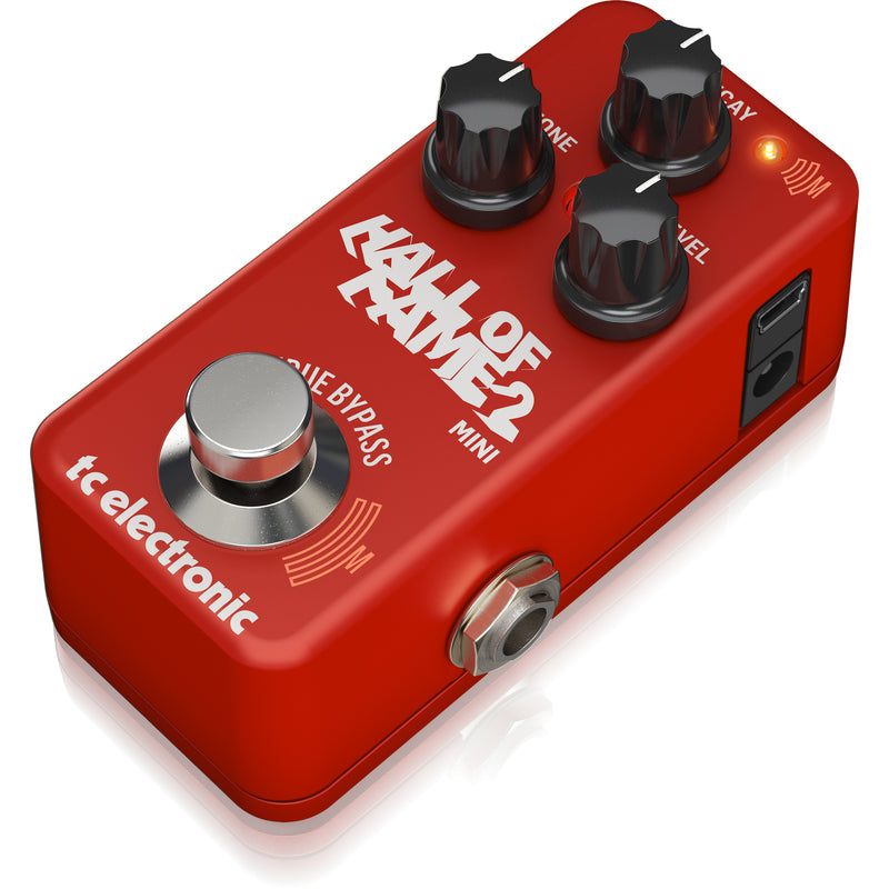 TC Electronic Hall of Fame HOF Mini 2 Reverb Pedal