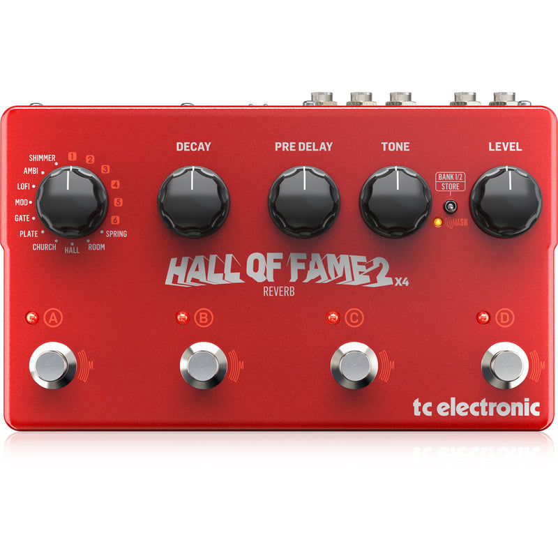 TC Electronic Hall of Fame 2X4