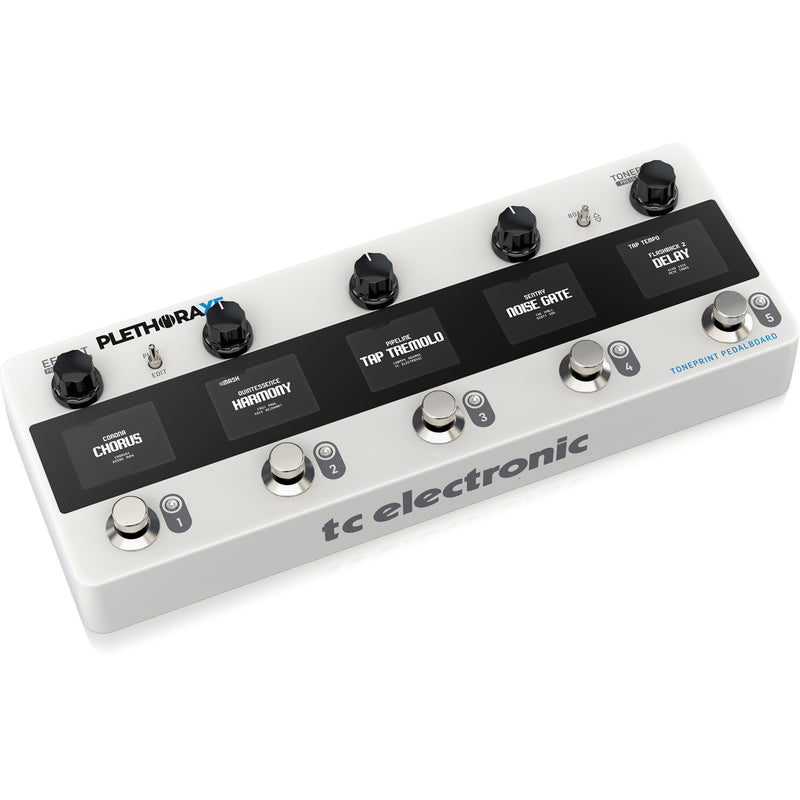 TC Electronic Plethora X5 Toneprint Pedalboard Multi-Effects Pedal
