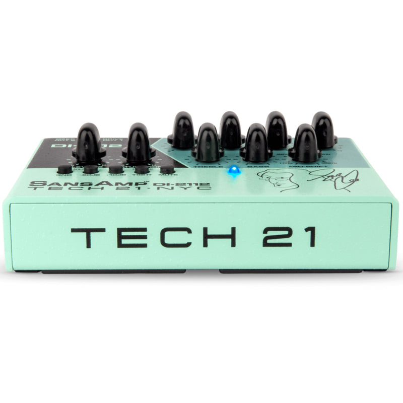 Tech 21 Geddy Lee DI-2112 Signature SansAmp - Desk Top/Amp Top Bass Pre-amp