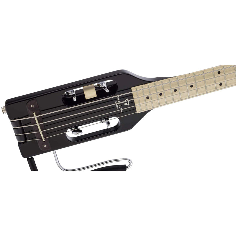 "Traveler Guitar Ultra Light Bass Guitar 30"" Scale- Gloss Black"