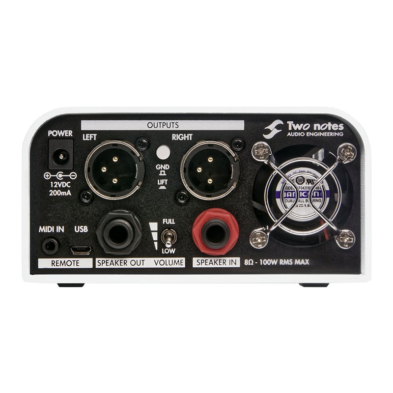 Two Notes Torpedo Captor X Reactive Loadbox DI and Attenuator - 8 ohm