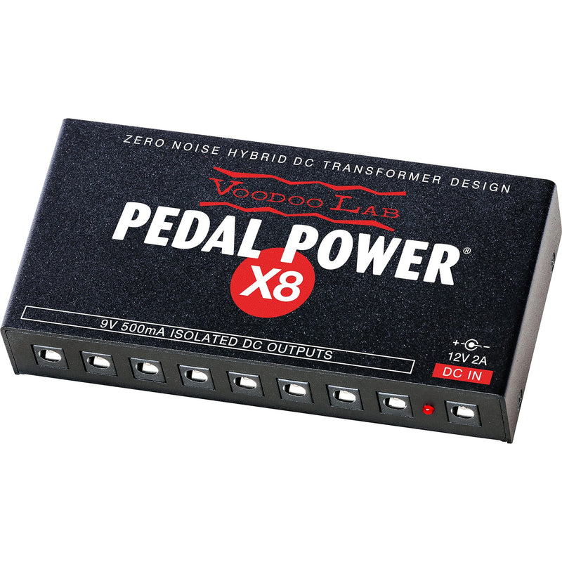Voodoo Lab Dingbat Small Pedalboard with Pedal Power X8 Power Supply
