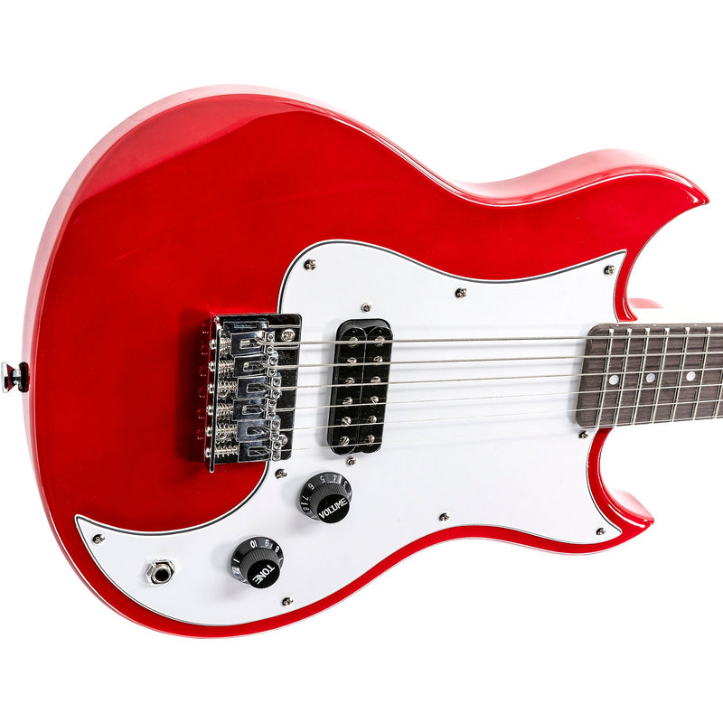 Vox SDC-1 Mini Travel Electric Guitar - Red