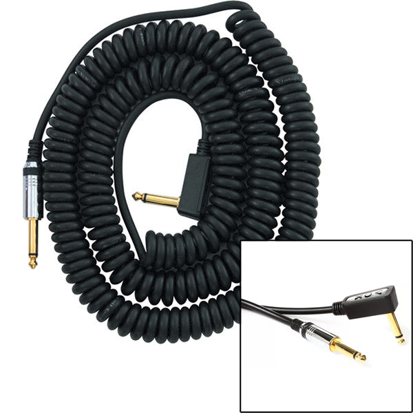 VOX Coiled Cable 29.5' Black