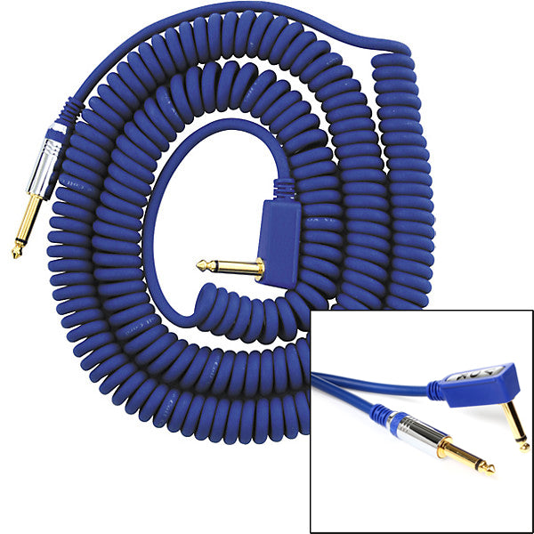 VOX Coiled Cable 29.5' Blue