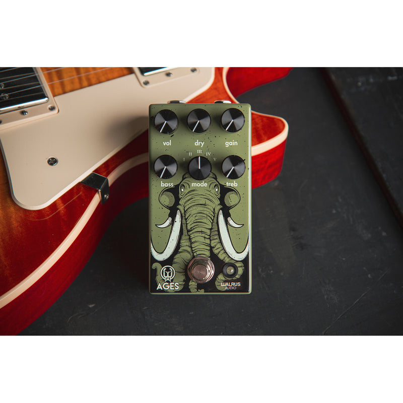 Walrus Audio Ages Five-State Overdrive Pedal