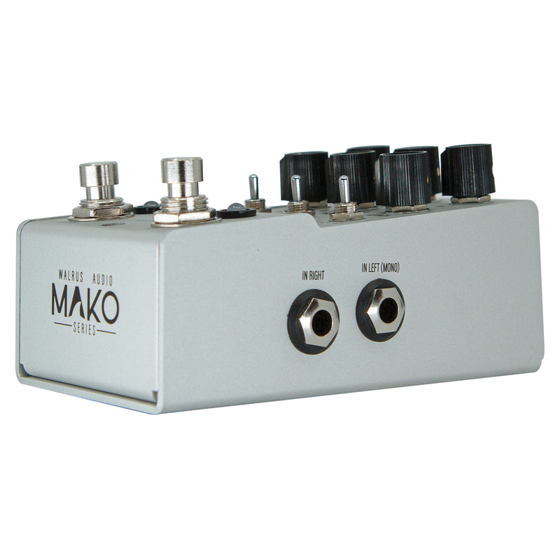 Walrus Audio MAKO Series D1 High-Fidelity Stereo Delay Pedal