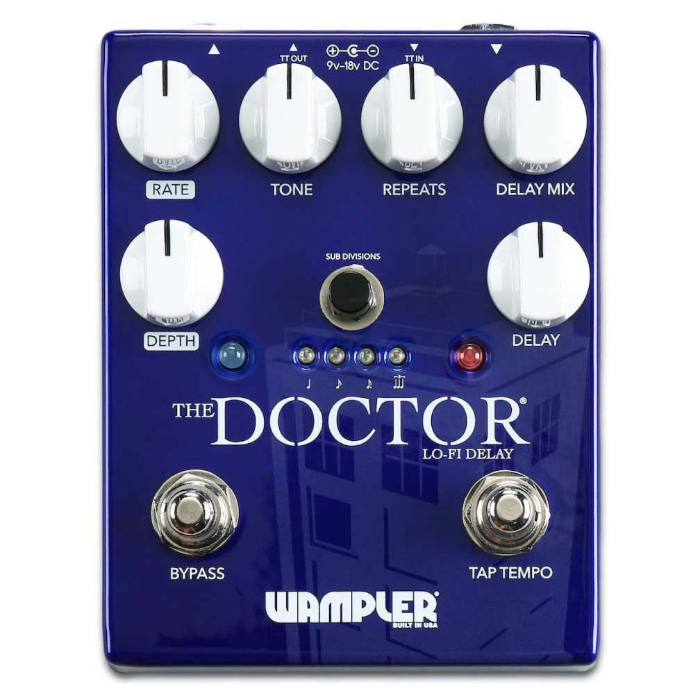 Wampler 2017 Doctor Lofi Delay
