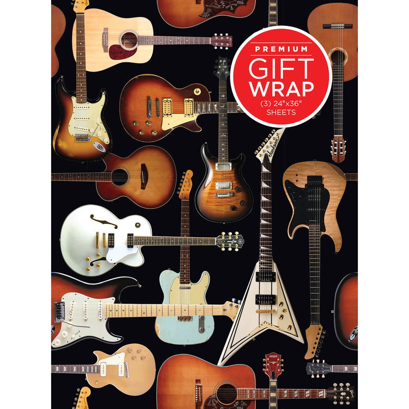 Wrapping Paper - Guitar  Theme