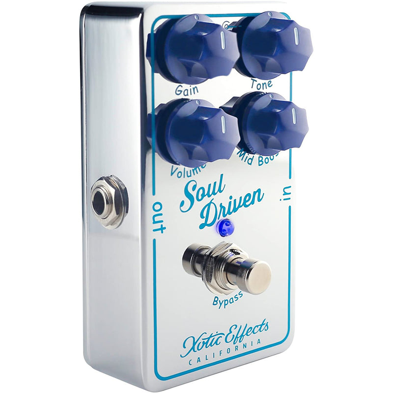 Xotic Soul Driven Overdrive Boost Pedal