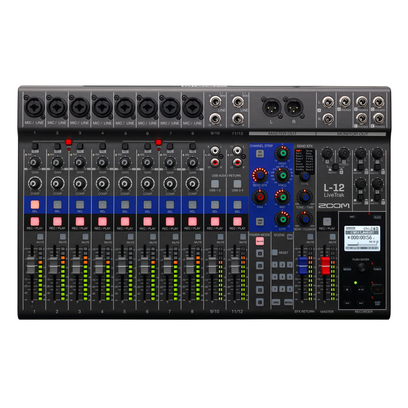 Zoom LiveTrak L12 Mixer/Rec