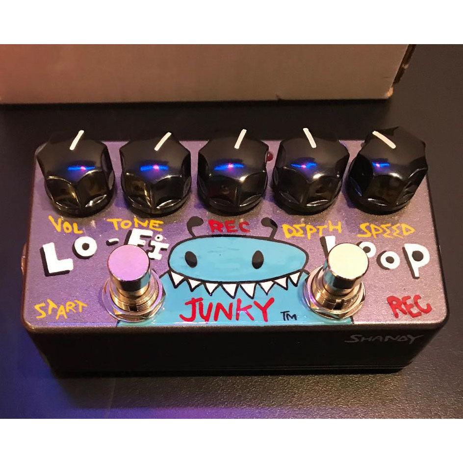 Zvex USA Handpainted Series Lo-Fi Loop Junky Pedal - DEMO - LAST ONE!