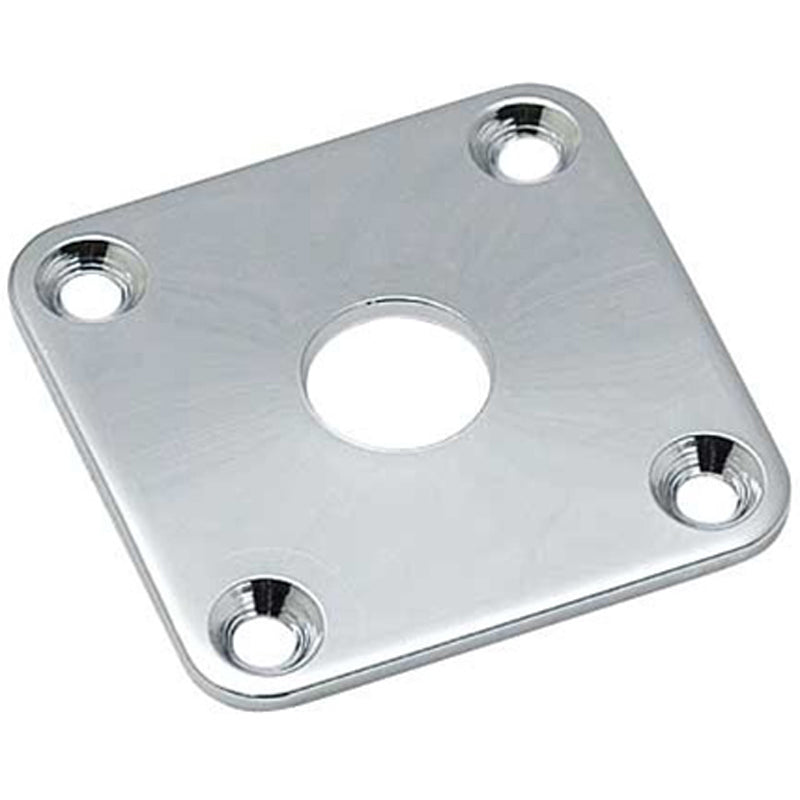 Allparts Chrome LP Jackplate