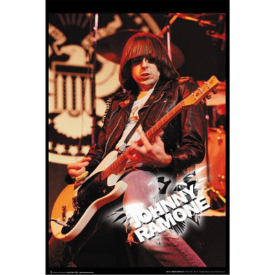 Johnny Ramone Live Poster
