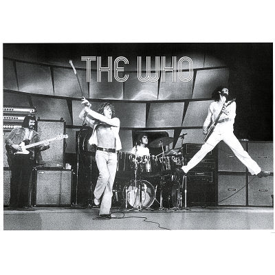 The Who Live on Stage Poster