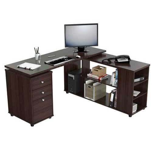 L-shaped Computer Work Center