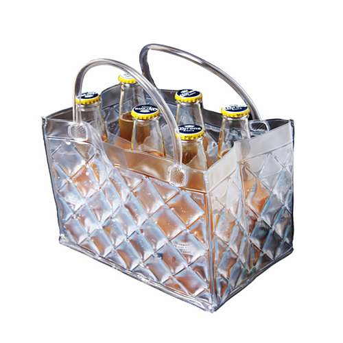 CHILL at WILL The 6 pack Beer Freezer Bags in various colors