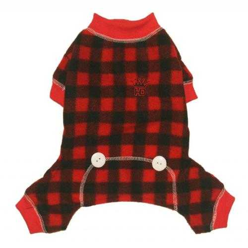 Lumberjack Fleece Dog Jumper
