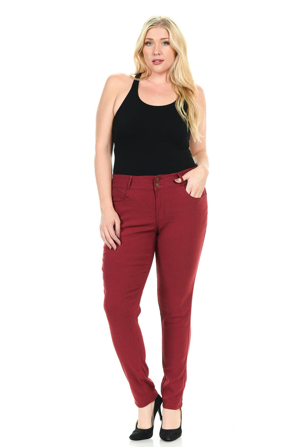 926 Women's Jeans - Plus Size - HW - Push Up -
