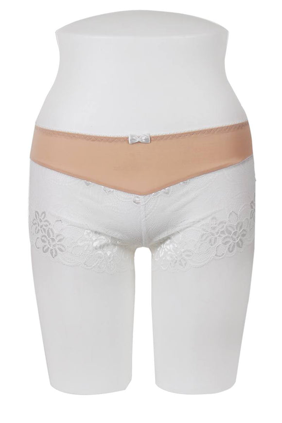 Floral Lace Overlay Boyshort