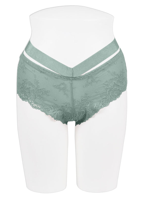 Ladies Fashion Floral Lace Hipster Panty