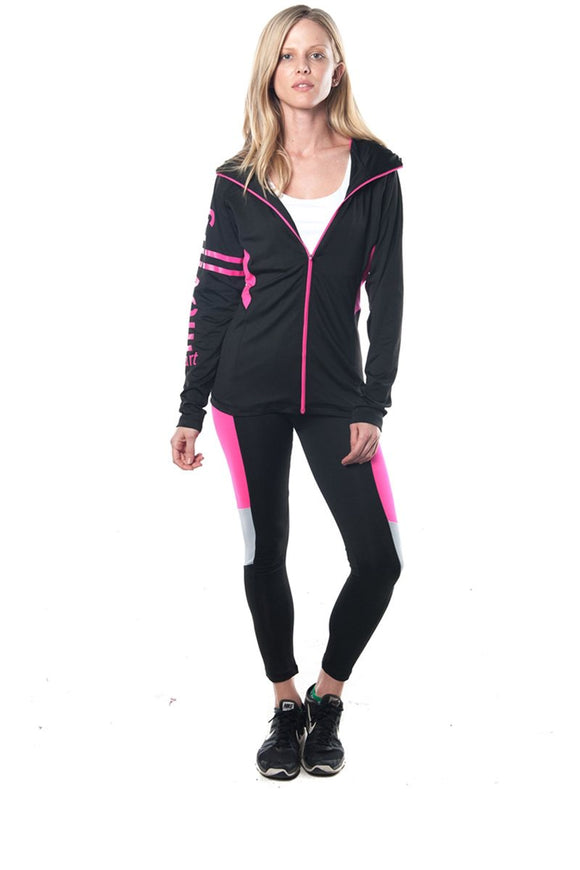 Active 2 Pc Set Hooded Outfit