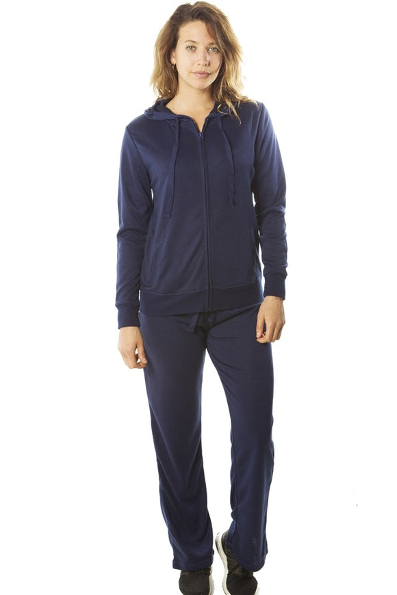 French Terry Hoodie Jacket and Pant Set