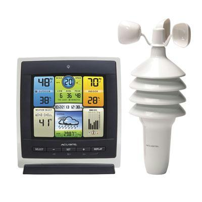 AcuRite 3 in 1 Color Weather Center