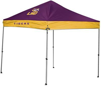 Ncaa 9x9 Straight Leg Canopy LSU