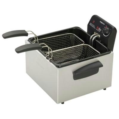 Dual Element Immersion Element Deep Fryer