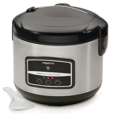Presto 16 Cup Digital Rice Cooker