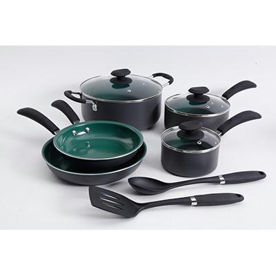 10 Pc Eco Friendly Cookware  Set