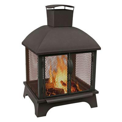 Redford Outdoor Fireplace