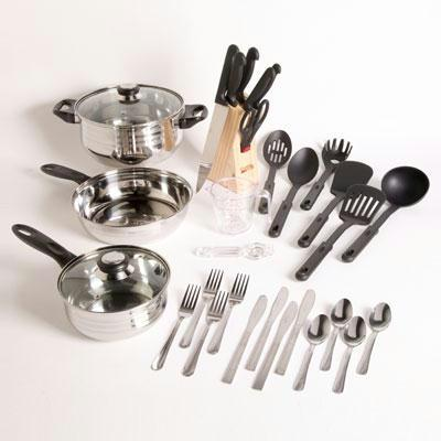 Lybra 32 Piece Cookware Set