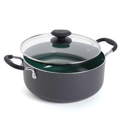 Gibson Home 5-Quart Dutch Oven with Glass Lid