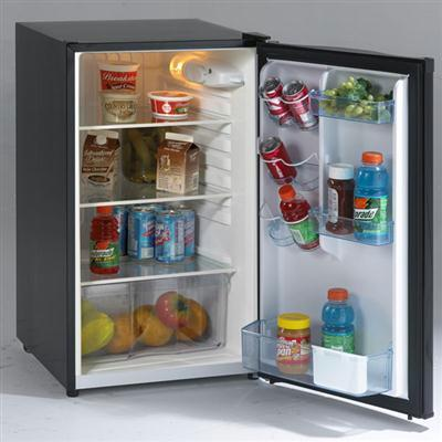 Avanti 4.4cuft Black Counter Height Refrigerator