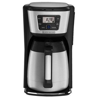 Black & Decker 12 Cup Thermal Programmable Coffee Maker
