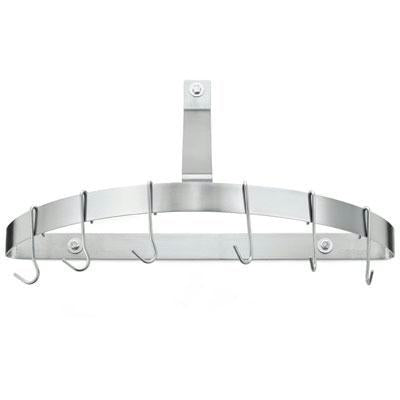 Cuisinart Half Circle Wall Stainless Steel Pot Rack