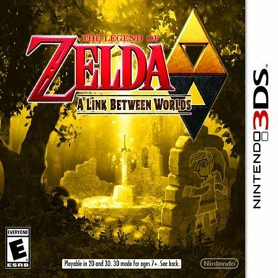 Zelda Link Between Worlds 3ds