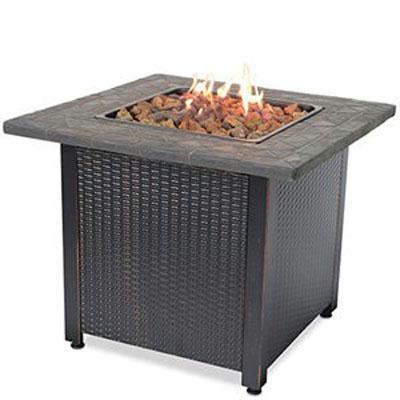 Uniflame LP Gas Outdoor Fireplace