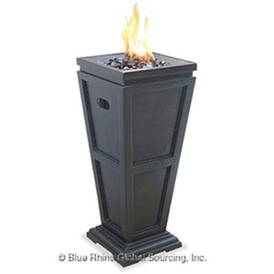 Uniflame Outdoor Gas Column Firepit