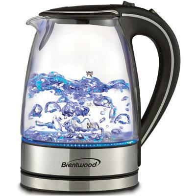 Brentwood Cordless Glass Electric Kettle