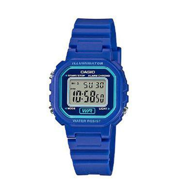 Ladies Color Digital Watch Blu