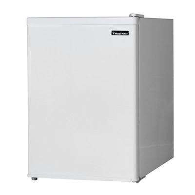 Magic Chef 2.4 cuft White Compact Fridge with Freezer