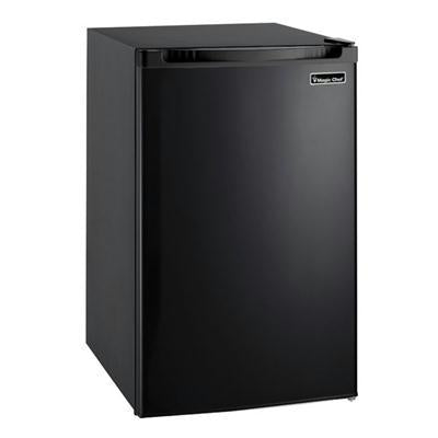 Magic Chef 4.4 Black Compact Fridge with Freezer