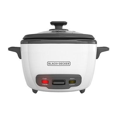 Black & Decker 14 Cup White Rice Cooker