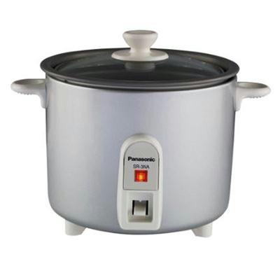 Panasonic 1.5 Cup Silver Rice Cooker